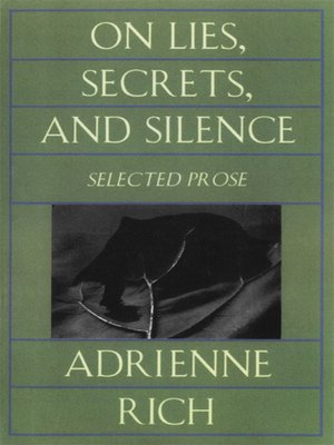 cover image of On Lies, Secrets, and Silence