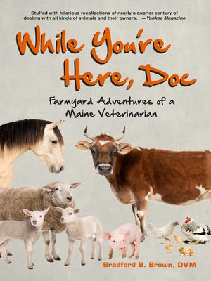 cover image of While You're Here, Doc