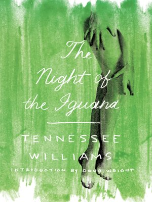 cover image of The Night of the Iguana