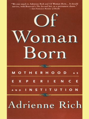 cover image of Of Woman Born