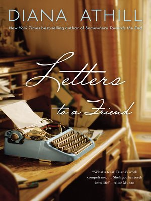 cover image of Letters to a Friend