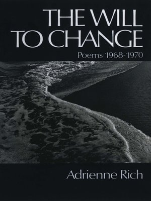 cover image of The Will to Change