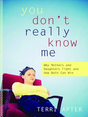 cover image of You Don't Really Know Me