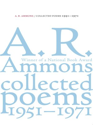 cover image of Collected Poems, 1951-1971