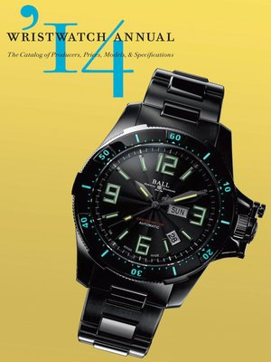 cover image of Wristwatch Annual 2014