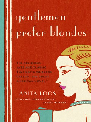 cover image of Gentlemen Prefer Blondes