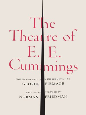 cover image of The Theatre of E. E. Cummings
