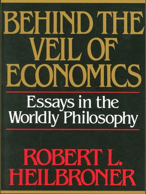 cover image of Behind the Veil of Economics