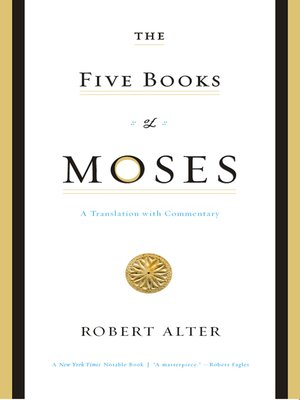 cover image of The Five Books of Moses
