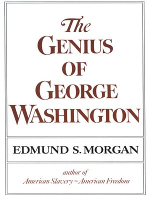 cover image of The Genius of George Washington