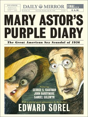 cover image of Mary Astor's Purple Diary