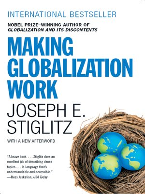 cover image of Making Globalization Work