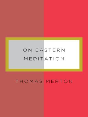 cover image of On Eastern Meditation