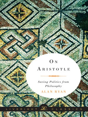 cover image of On Aristotle