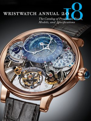 cover image of Wristwatch Annual 2018