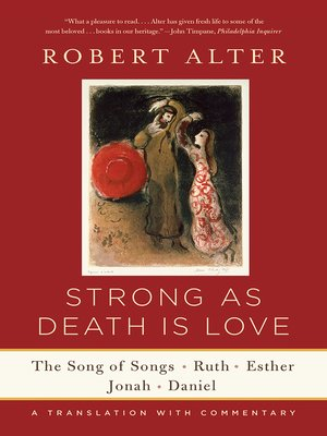 cover image of Strong As Death Is Love