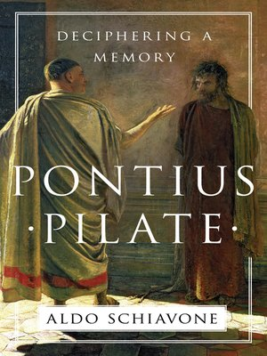 cover image of Pontius Pilate