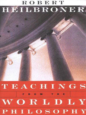 cover image of Teachings from the Worldly Philosophy