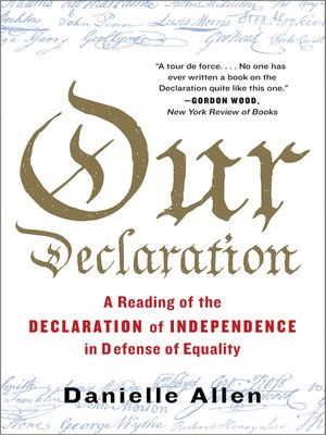 cover image of Our Declaration