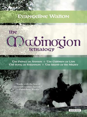cover image of The Mabinogion Tetralogy
