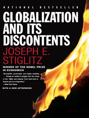 cover image of Globalization and Its Discontents
