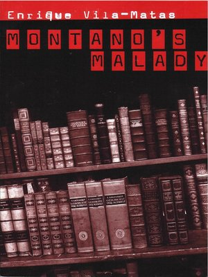 cover image of Montanao's Malady