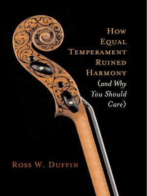 cover image of How Equal Temperament Ruined Harmony (and Why You Should Care)