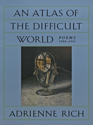 cover image of An Atlas of the Difficult World