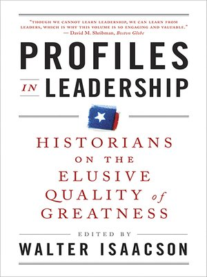cover image of Profiles in Leadership