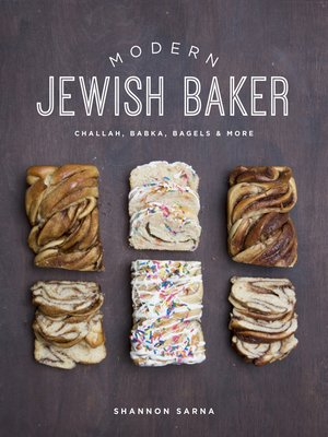 cover image of Modern Jewish Baker