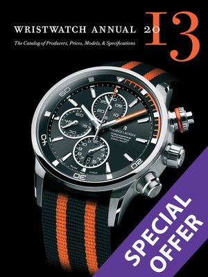 cover image of Wristwatch Annual 2013