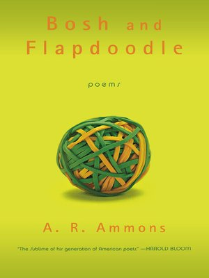 cover image of Bosh and Flapdoodle