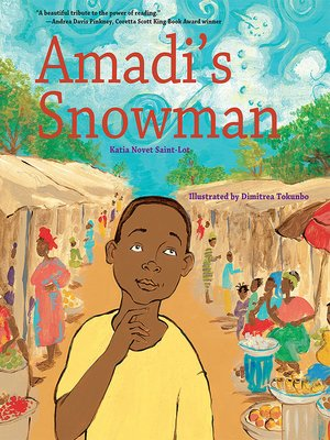 cover image of Amadi's Snowman