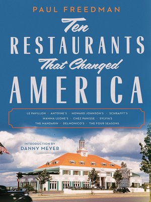 cover image of Ten Restaurants That Changed America