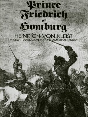 cover image of Prince Friedrich of Homburg