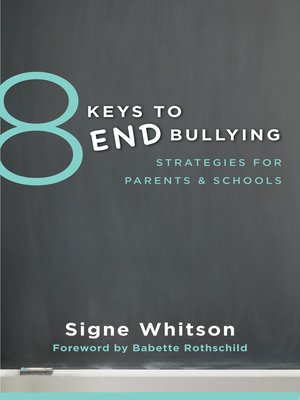 cover image of 8 Keys to End Bullying