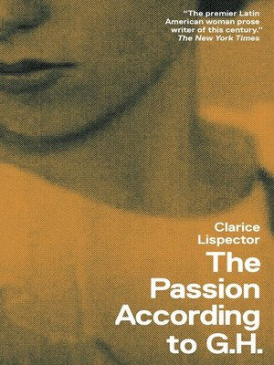 cover image of The Passion According to G.H.