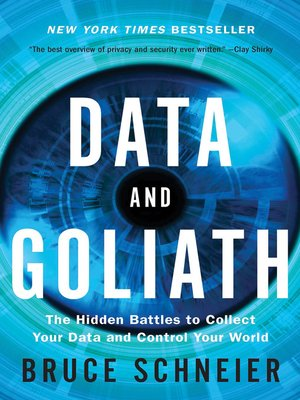 cover image of Data and Goliath