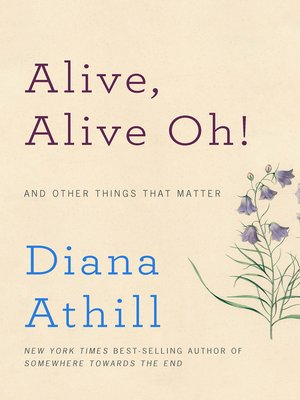 cover image of Alive, Alive Oh!