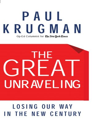 cover image of The Great Unraveling