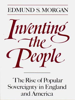 cover image of Inventing the People