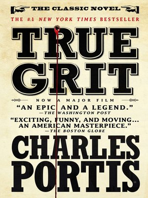 cover image of True Grit