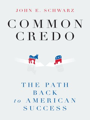 cover image of Common Credo
