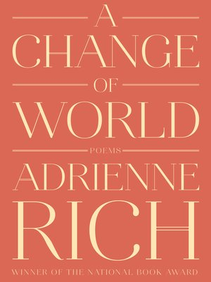 cover image of A Change of World