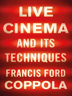 cover image of Live Cinema and Its Techniques