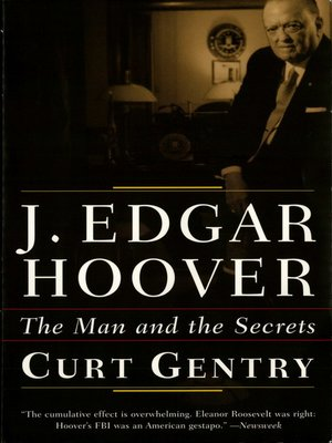 cover image of J. Edgar Hoover