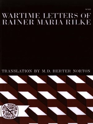 cover image of Wartime Letters of Rainer Maria Rilke