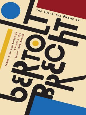 cover image of The Collected Poems of Bertolt Brecht