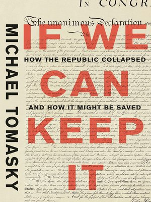 cover image of If We Can Keep It