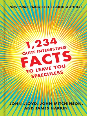 cover image of 1,234 Quite Interesting Facts to Leave You Speechless
